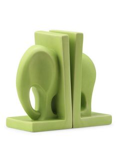 PIN IT to WIN IT! REPIN THIS to be entered to win an Elefante Book End in your choice of Green, Black, Purple or White. This book end is $32, but you can win it! What color would you choose?