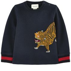 Cotton fleece Light item Comfortable item Crew neck Long sleeves Ribbed knit trims Snap buttons on the shoulder Embroidery
