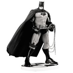 Batman Black and White Statue by Frank Miller