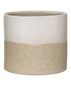 Take a look at this Round Ceramic Barbara Flower Pot today!