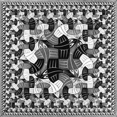 Square Limit - M.C. Escher