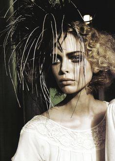Tanya Dziahileva for Vogue Italia