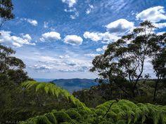Hiking in Wentworth Falls, Australia