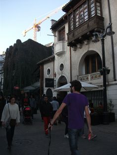 Barrio Lastarria, Santiago Chile