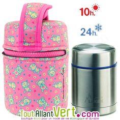 Lunch Box isotherme inox avec housse Souris Rose, 0,5L achat vente écologique - Acheter sur ToutAllantVert.com