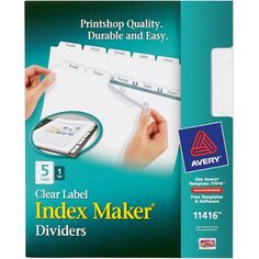 FREE Avery Index Dividers and Label Strip Samples - http://www.guide2free.com/home-and-garden/free-avery-index-dividers-and-label-strip-samples/
