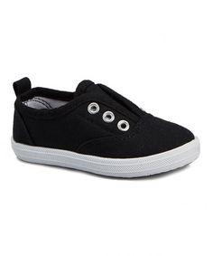 Love this Black Slip-On Sneaker on #zulily! #zulilyfinds