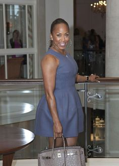 Marjorie harvey cute dress! The Lady Loves Couture, Love Couture, Style And Grace, Love Her Style, Style Me, Marjorie Harvey, Steve Harvey, Star Fashion, Womens Fashion