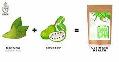 The Healthiest Tea on The Market, Soursop Matcha Green Tea