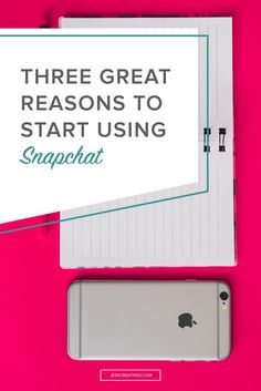 I've been using Snapchat for several months now, but recently started really falling in love with it. With the new algorithm changes on Instagram and Pinterest, and the ever-annoying algorithm on Facebook, Snapchat is a fun social media platform.
