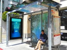 Bus Shelter - Whole Structure