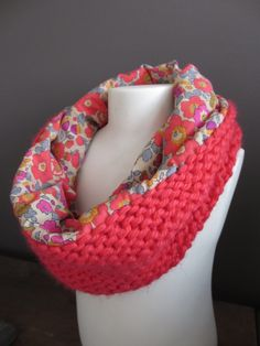 Snood hiver Betsy fluo thé - PA