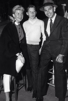 With Terry and Jack Webb