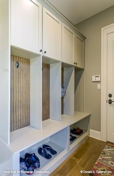 Mud room built-ins a