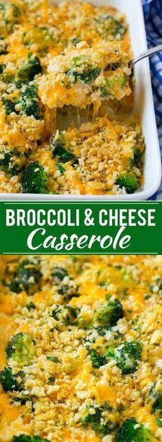 Broccoli and Cheese Casserole Recipe | Broccoli and Rice Casserole | Broccoli with Cheese | Cheesy Rice Casserole | Easy Casserole Recipe