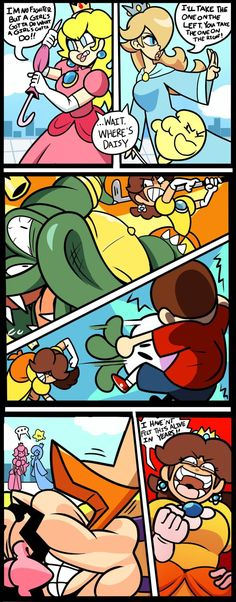 on And this is why daisy dont get kidnappedAnd this is why daisy dont get kidnapped Super Smash Bros Memes, Nintendo Super Smash Bros, Mario And Luigi, Mario Bros, Mario Comics, Super Smash Ultimate, Video Game Memes, Video Games, Super Mario Art