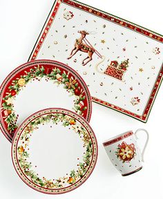 Christmas Tableware from Villeroy & Boch     Winter Bakery  For 12-18