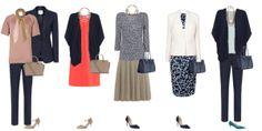 Spring capsule wardrobe, capsule wardrobe business wear