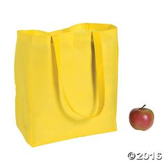 Yellow Shopper Tote Bags