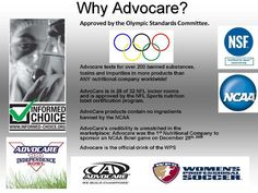 Advocare chooses Informed Choice :)  The pros use it, so can you... www.tanyacares.com