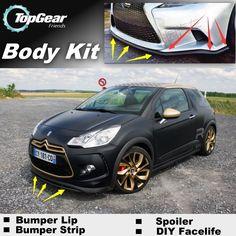 Bumper Lip Deflector Lips For Citroen Front Spoiler Skirt For TopGear Fans Car Tuning View / Body Kit / Strip Citroen Ds3, Car Tuning, Lips, Fan, Vehicles, Stuff To Buy, Skirt, Ideas, Rock