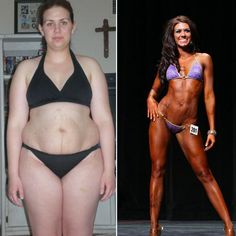 Body Transformation: http://musclereview.net/body-transformation-kim-sanders-kimpossible-fitnes/