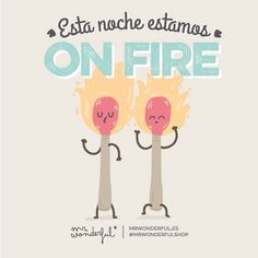 On fire!!