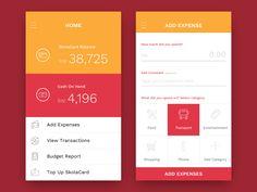 Minimalist Wallet App