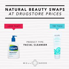 8 Natural Beauty Swaps for Drugstore Favorites #beauty #nontoxic #natural #women