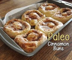 This Paleo Cinnamon Roll recipe is a sweet success! It's not easy for people to go completely gluten and dairy-free. It was frustrating at first because I like to bake, and I found most recipes didn't work out for me the way they were supposed to. I also don't like the gluten-free baked goods sold at stores as they contain a lot of gums (xantham gum, guar, etc.) in high enough amounts to cause me stomach problems.Traditional cinnamon rolls use yeast to make the dough rise, but not in this…