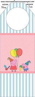Peppa Pig: Party Free Printables.