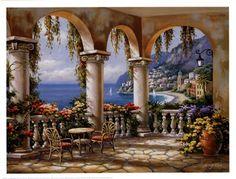 Title: Terrace Arch I  Artist: Sung Kim