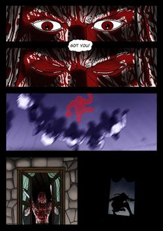 It's a Vampire!!! (page 19) by Gocce & Sejver #vampires #horror #comics #fantasy #action #blood ; free previews on www.komicbrew.com