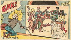 'The Archies' detail from Pep #227, 1969