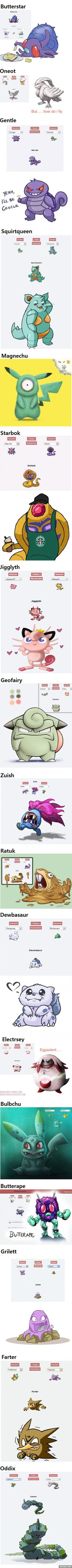 17 Hilarious Pokemon fusions that might be better than the originals