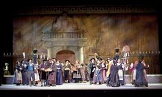 Carmen Act IV. Sarasota Opera. Scenic design by David P. Gordon. 2012