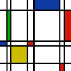 Piet Mondrian a painter, that with a group of other artists & architects developed an artistic philosophy known as neoplasticism in 1917 in Amsterdam. Piet Mondrian Artwork, Mondrian Kunst, Bauhaus, Mondrian Art Projects, Famous Artists Paintings, Constructivism, Dutch Painters, Dutch Artists, Geometric Art
