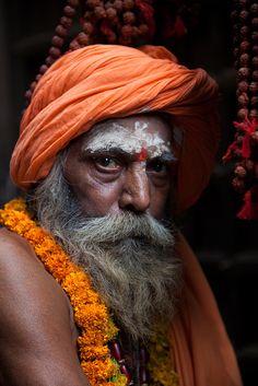 The sahdou, Varanasi (Benares) India