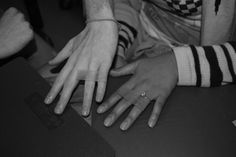Twitter / kimiyaisms: #DIY wedding bands. Their 1 ...