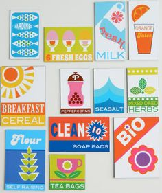 70s Supermarket Set by aliceapple on Etsy