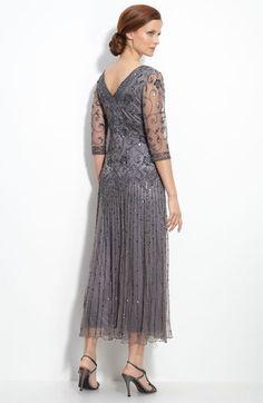 Pisarro Nights Beaded Mesh Dress (Regular & Petite) | Nordstrom
