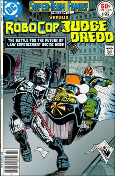 Super Team Family: RoboCop vs Judge Dredd