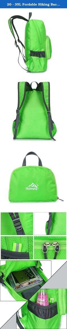 Sports & Entertainment Systematic 20-35l Unisex Outdoor Backpack Camping Pvc Waterproof Folding Mountaineering Bag Lightweight Travel Sports Rucksack For Hiking A Wide Selection Of Colours And Designs