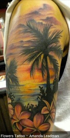 Tropical sleeve