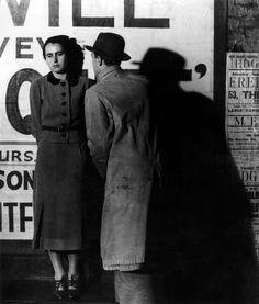 """Street Scene"" - London - 1936 - photographer Bill Brandt."