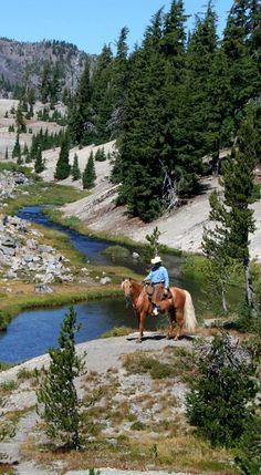 Central Oregon trail ride