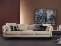 Poltrona Frau Bretagne Three Seater Sofa