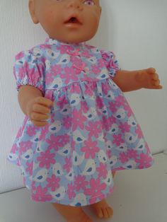 Dolls Clothes Dress & Panties to fit Baby Born 17inch (43cm) Baby Dolls £8.50