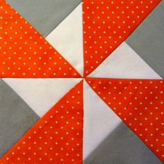 42 Quilts: Modern Monday - Block 32 block used in next quilt with whole cloth. Quilting Projects, Quilting Designs, Sewing Projects, Quilting Ideas, Quilt Block Patterns, Pattern Blocks, Pinwheel Quilt Pattern, Pinwheel Tutorial, Quilt Blocks Easy