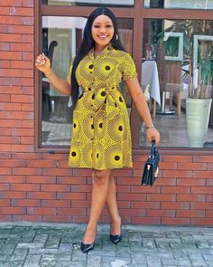 Here are 26 PHOTOS: Superb Ankara Styles For Women - African Wears 2020 We've gathered these amazing Ankara styles/African dresses, African fashion for Short African Dresses, Ankara Styles For Women, Ankara Short Gown Styles, African Fashion Designers, Latest African Fashion Dresses, African Print Dresses, Ankara Fashion, Short Gowns, Ankara Gowns